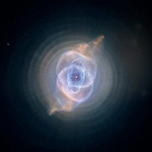 The Cat's Eye Nebula. Click image for bigger. Credit: NASA, ESA, HEIC, and The Hubble Heritage Team (STScI/AURA)