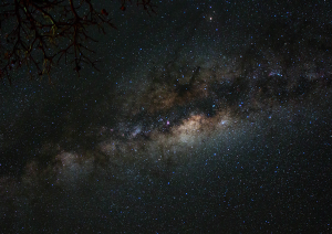 The Milky Way, photo taken by Sarah West of Derby DHS.