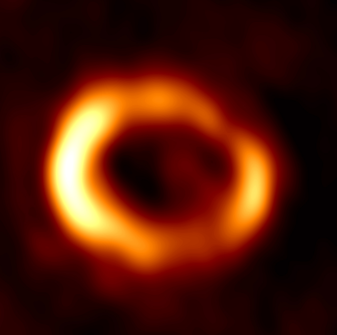 Radio image at 7 mm. Credit: ICRAR Radio image of the remnant of SN 1987A produced from observations performed with the Australia Telescope Compact Array (ATCA).