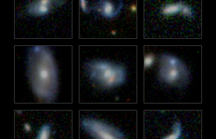 MONSTER GALAXIES GAIN WEIGHT BY EATING SMALLER NEIGHBOURS