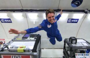 ICRAR IN EUROPEAN SPACE AGENCY'S TOP 5 MICROGRAVITY EXPERIMENTS!