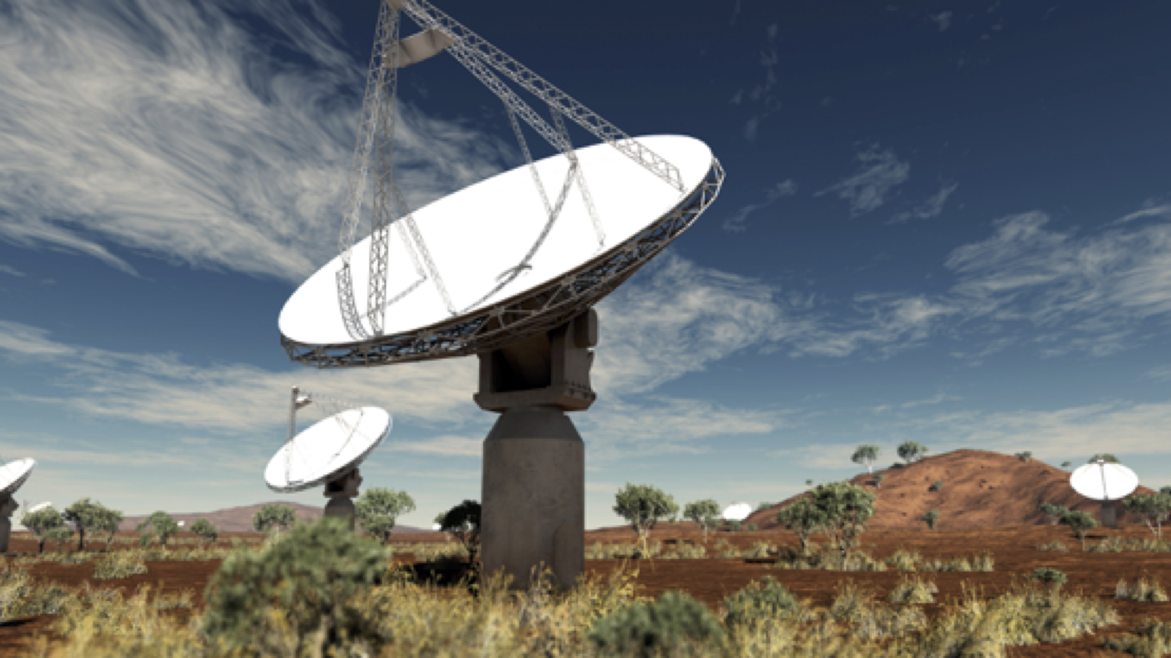 The Australian SKA pathfinder (ASKAP) in Western Australia is one of several world-class radio telescopes being used by ICRAR researchers