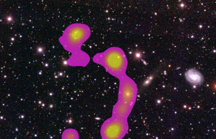 Writing their name in the stars: citizen scientists discover huge galaxy cluster