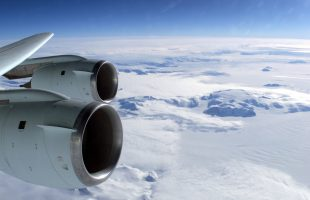 A flying classroom and a trip to the South Pole