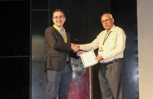 Dr Luca Cortese awarded the Bappu Gold Medal