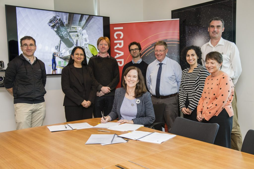 UWA DVCR Professor Robyn Owens signed off on a $1.4m investment to support participation in the 4MOST and AAT consortiums.