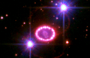 Astronomers Observe the Magnetic Field of the Remains of Supernova 1987A