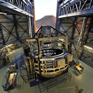 The 4MOST upgrade of the VISTA telescope will make it the world's most powerful system for measuring galaxy redshifts. Credit: G. Hüdepohl (atacamaphoto.com)/ESO