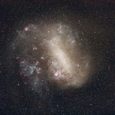 Magellanic Clouds duo may have been a trio Image