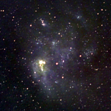 Telescope maps cosmic rays in Large and Small Magellanic Clouds