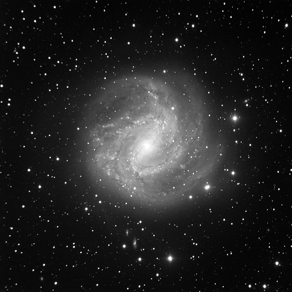 M83, the Southern Pinwheel Galaxy imaged in beautiful detail using the SPIRIT telescopes.