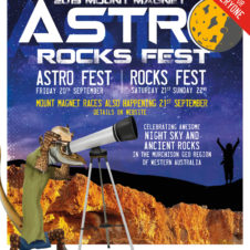 Mt Magnet 2019 Astro Rocks Fest
