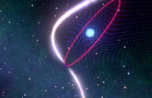 Astronomers witness the dragging of space-time in stellar cosmic dance