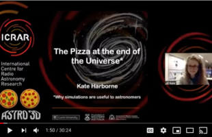 The Pizza at the end of the Universe