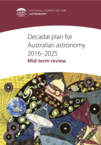 The mid-term review of the 2016 decadal plan for Australian astronomy