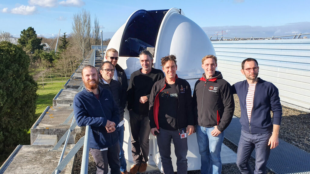An image showing the scientific team members.
