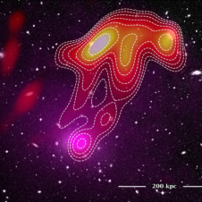 Astronomers see a 'Space Jellyfish' Image