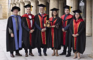 Five new doctorates from ICRAR/UWA