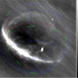 Looking for FRBs in high-time resolution images from SKA-Low prototype stations