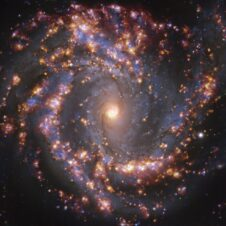 Galactic fireworks: stunning features of nearby galaxies revealed